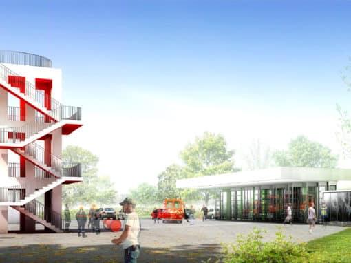 Centre d'incendie et de secours – Fontenay-Trésigny (77)