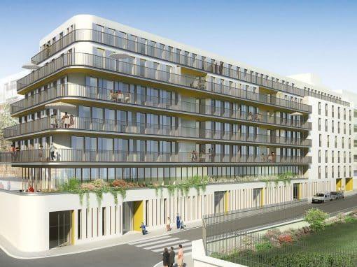 Logements et crêche Stendhal – Paris (75)