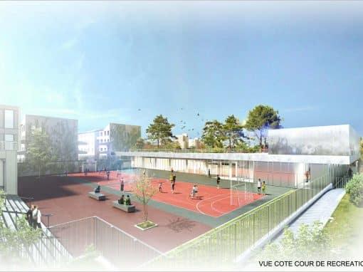 Restructuration du gymnase du collège Marguerite Duras – Colombes (92)