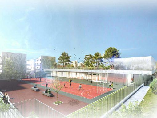 Reconstruction du Gymnase du Collège Marguerite Duras – Colombes (92)